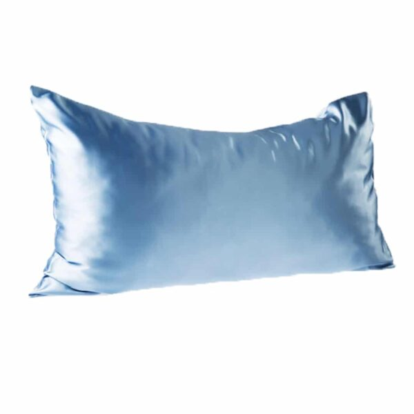 Every Second Counts Satin Pillowcase Baby Blue - Good Women