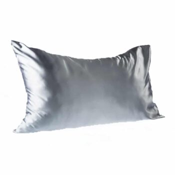 Every Second Counts Satin Pillowcases Grey