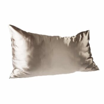 Every Second Counts Satin Pillowcases Stone