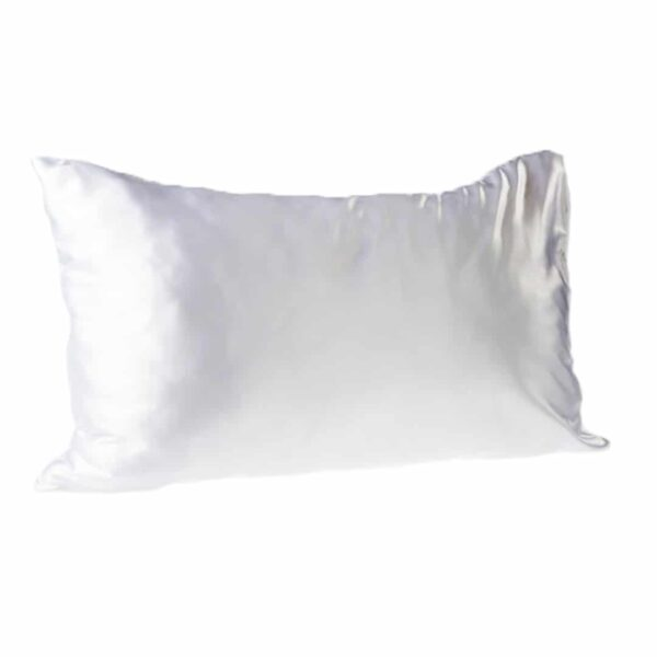 Every Second Counts Satin Pillowcase White - Good Women
